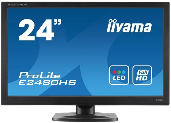 iiyama MONITOR 23.6'' E2480HS D-sub/DVI/HDMI/głośniki /IIYAMA