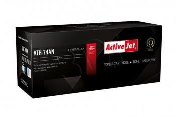 ActiveJet Toner ActiveJet ATH-74AN | Black | 3600 str. | Refill + new OPC | HP 92274A