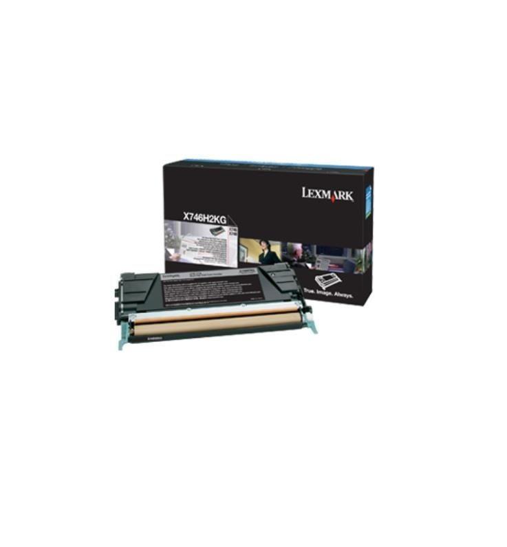 Lexmark toner black (12000str, X746/X748)