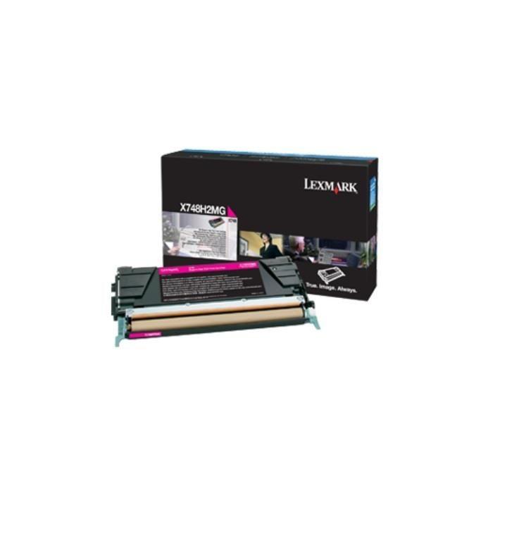 Lexmark toner magenta (10000str, X748de/X748dte)