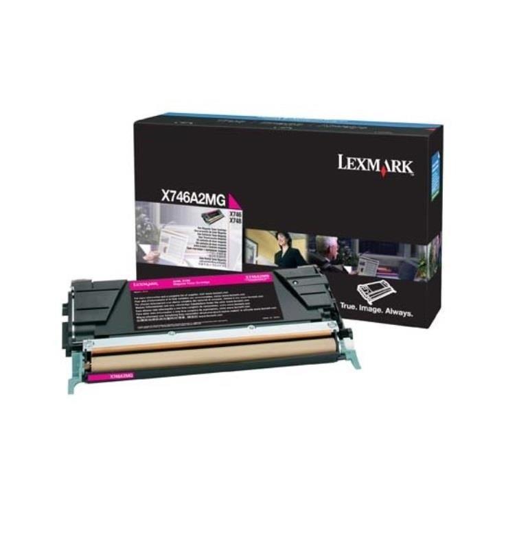 Lexmark toner magenta (7000str, X746de/X748de/X748dte)