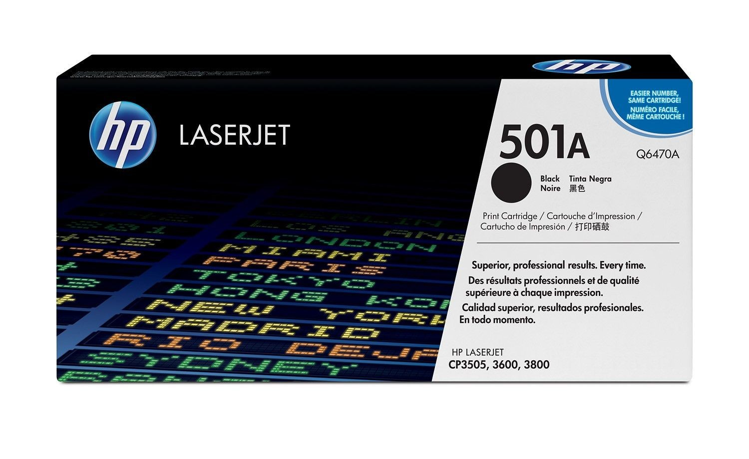 HP Toner HP black | 6000str | CLJ 3600/3800/CP3505