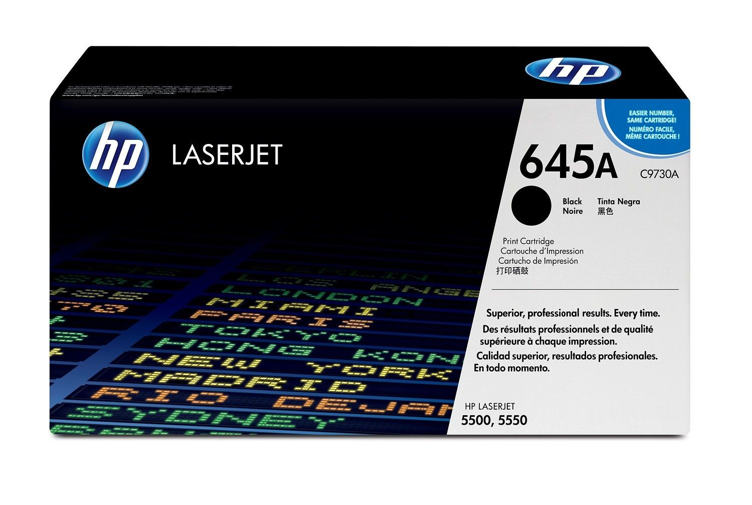 HP toner Black Color LaserJet 5500