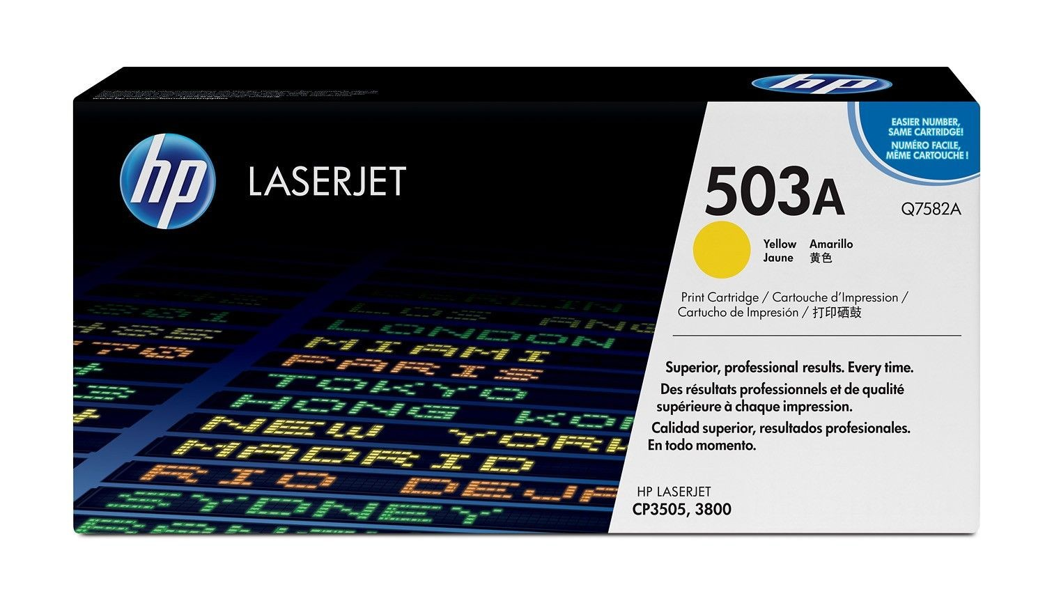HP toner Yellow CLJ3800 (6000 str)