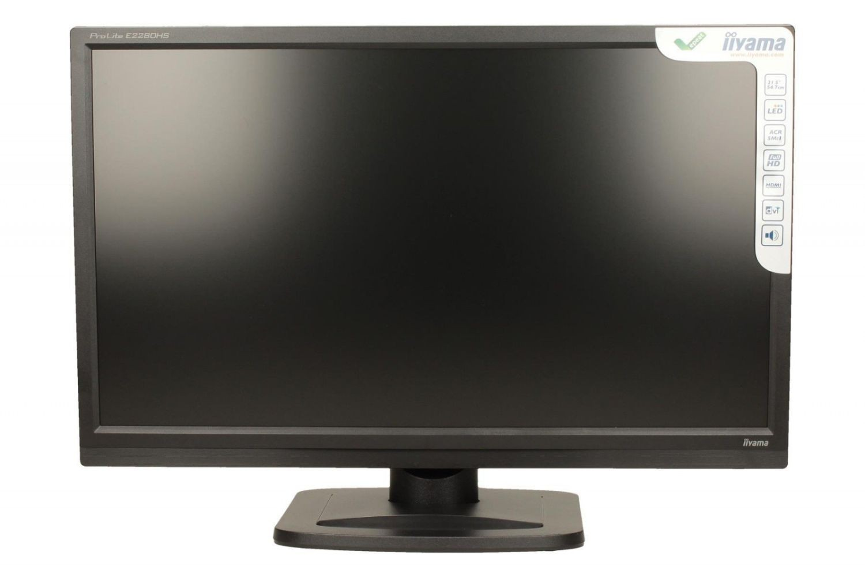 iiyama Monitor E2280HS-B1 21.5inch, TN, Full HD, DVI, HDMI, głośniki