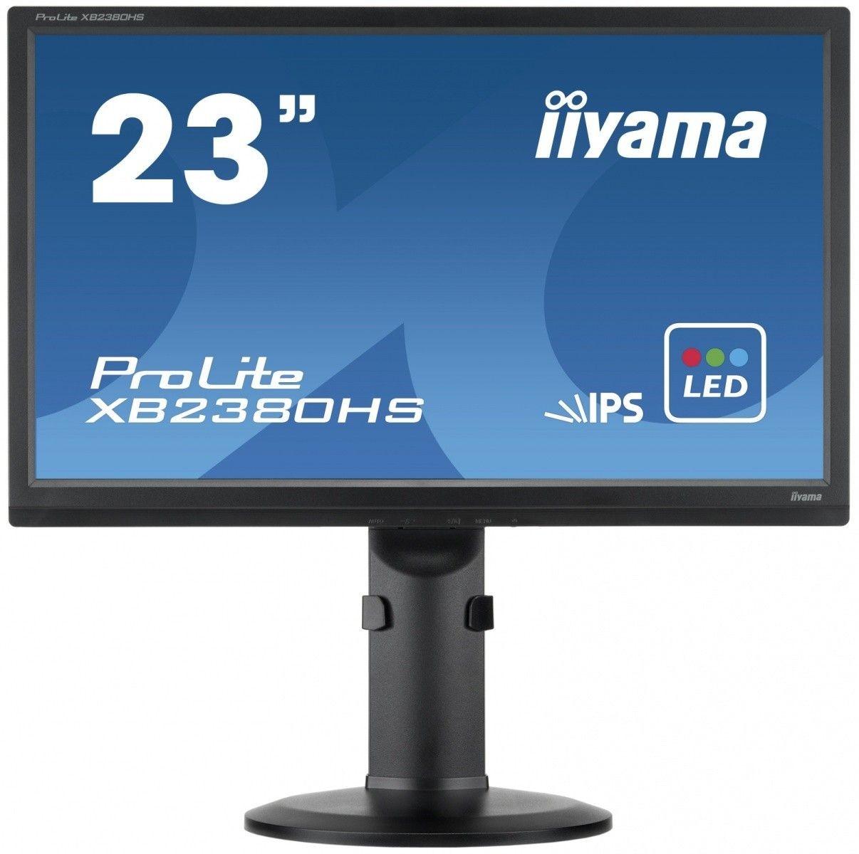iiyama Monitor XB2380HS-B1 23inch, IPS, Full HD, DVI, HDMI, głośniki
