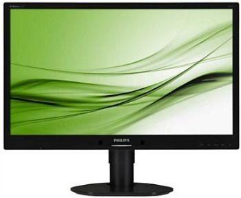 Philips Monitor 241B4LPYCB, 24, D-Sub/DVI/DP, głośniki, czarny
