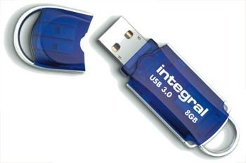 Integral pamięć USB 3.0 COURIER 8GB - (80/10MB/s)