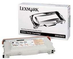 Lexmark toner black (5000str, C510 / C510dtn / C510n)