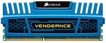 Corsair Vengeance 8GB 1600MHz DDR3 CL10 1.5V Radiator, Niebieska