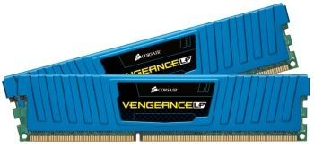 Corsair Vengeance LP 2x8GB 1600MHz DDR3 CL10 1.5V, Niebieska