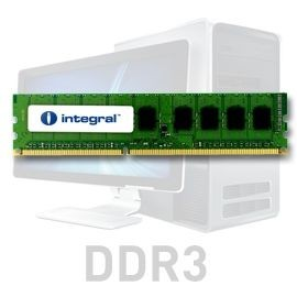 Integral DDR3 2x1GB 1066MHz ECC CL7 R1 Unbuffered 1.5V