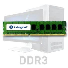 Integral DDR3 2x1GB 1066MHz ECC CL7 R1 Unbuffered 1.5V