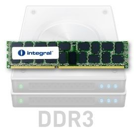 Integral 16GB DDR3-1333 ECC DIMM KIT (2 X 8GB) CL9 R4 REGISTERED 1.5V