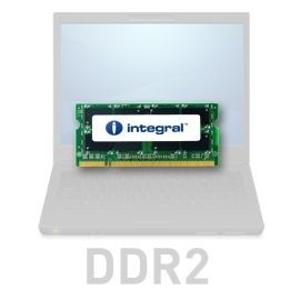 Integral SODIMM DDR2 2GB 533MHz CL4 R2 Unbuffered 1.8V