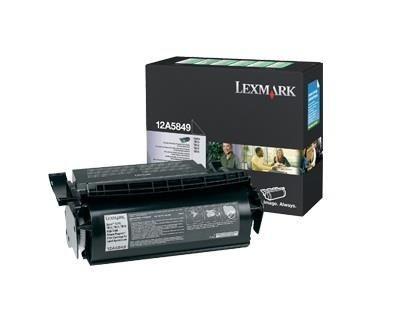 Lexmark toner czarny Optra T61x (kaseta zwrotna, 25000 str)
