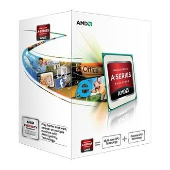 AMD APU A4-5300, Dual Core, 3.40GHz, 1MB, FM2, 32nm, 65W, VGA, BOX