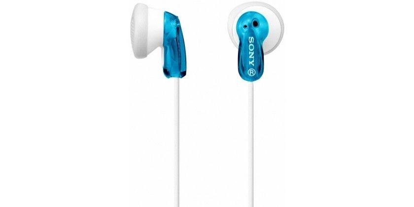 Sony słuchawki douszne MDR-E9LPL blue/white
