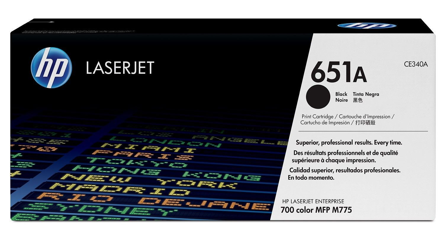 HP toner 651A black