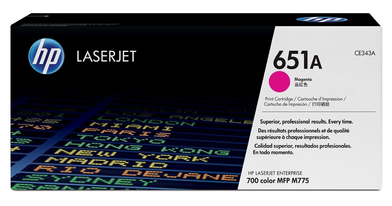 HP Toner HP 651A magenta