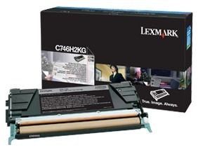 Lexmark toner black (12000str, C746/C748)