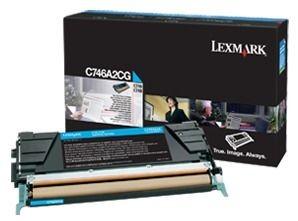 Lexmark toner cyan (7000str, C746/C748)