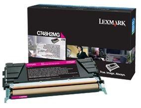 Lexmark toner magenta (10000str, C748)