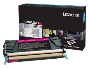 Lexmark toner magenta (7000str, C746/C748)