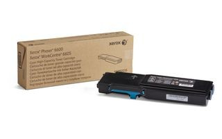 Xerox Toner cyan | 6 000str | Phaser 6600/WorkCentre 6605