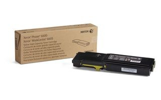 Xerox Toner yellow | 6 000str | Phaser 6600/WorkCentre 6605