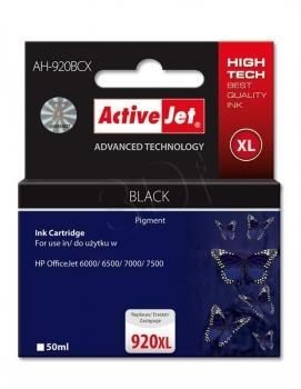 ActiveJet Tusz ActiveJet AH-920BCX | Czarny | 50 ml | HP 920XL CD975AE