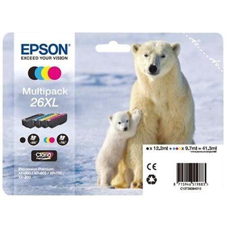 Epson Zestaw T2636 XL CMYK Claria Multi Pack | XP-600/700/800