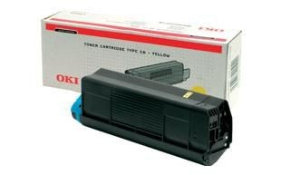 OKI toner Yellow C52/54 (3000 str)