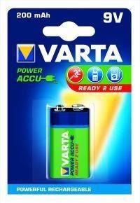 VARTA akumulator Power Accu 200mAh 6F22 9V (1szt)