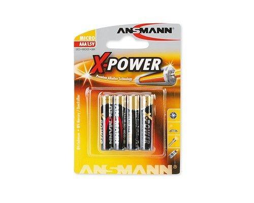 Ansmann bateria X-Power alkaliczna 4xAAA
