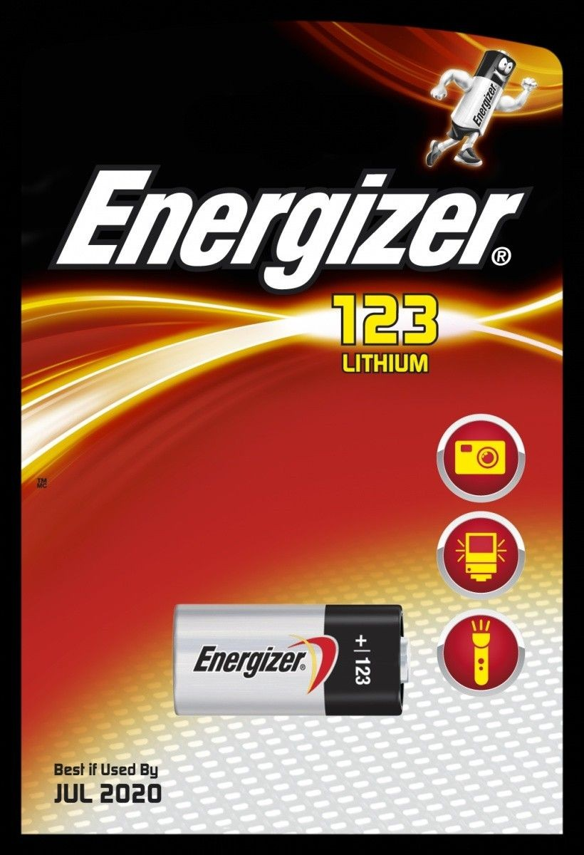 Energizer bateria PHOTO LITHIUM 123 (1szt)