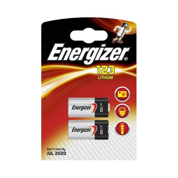 Energizer bateria PHOTO LITHIUM 123 (2szt)