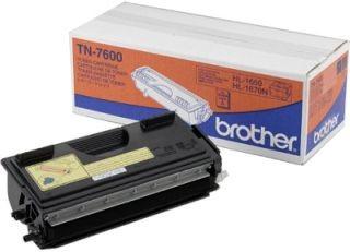 Brother Toner TN 7600 black | 6500str | HL 1650 / 1850 / 1870N / 50xx