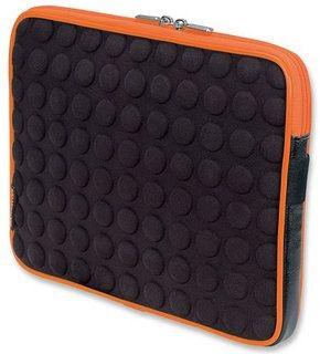 Manhattan futerał bąbelkowy do tabletu (czarno-pomarańczowy)
