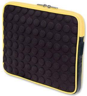 Manhattan Etui, futerał bąbelkowy do Tabletu 10.1 czarno-żółty