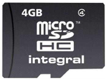 Integral micro SecureDigital HC 4GB (class 4)