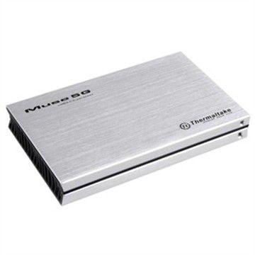 Thermaltake Obudowa na HDD - Muse 5G 2,5'' USB 3.0, aluminiowa srebrna