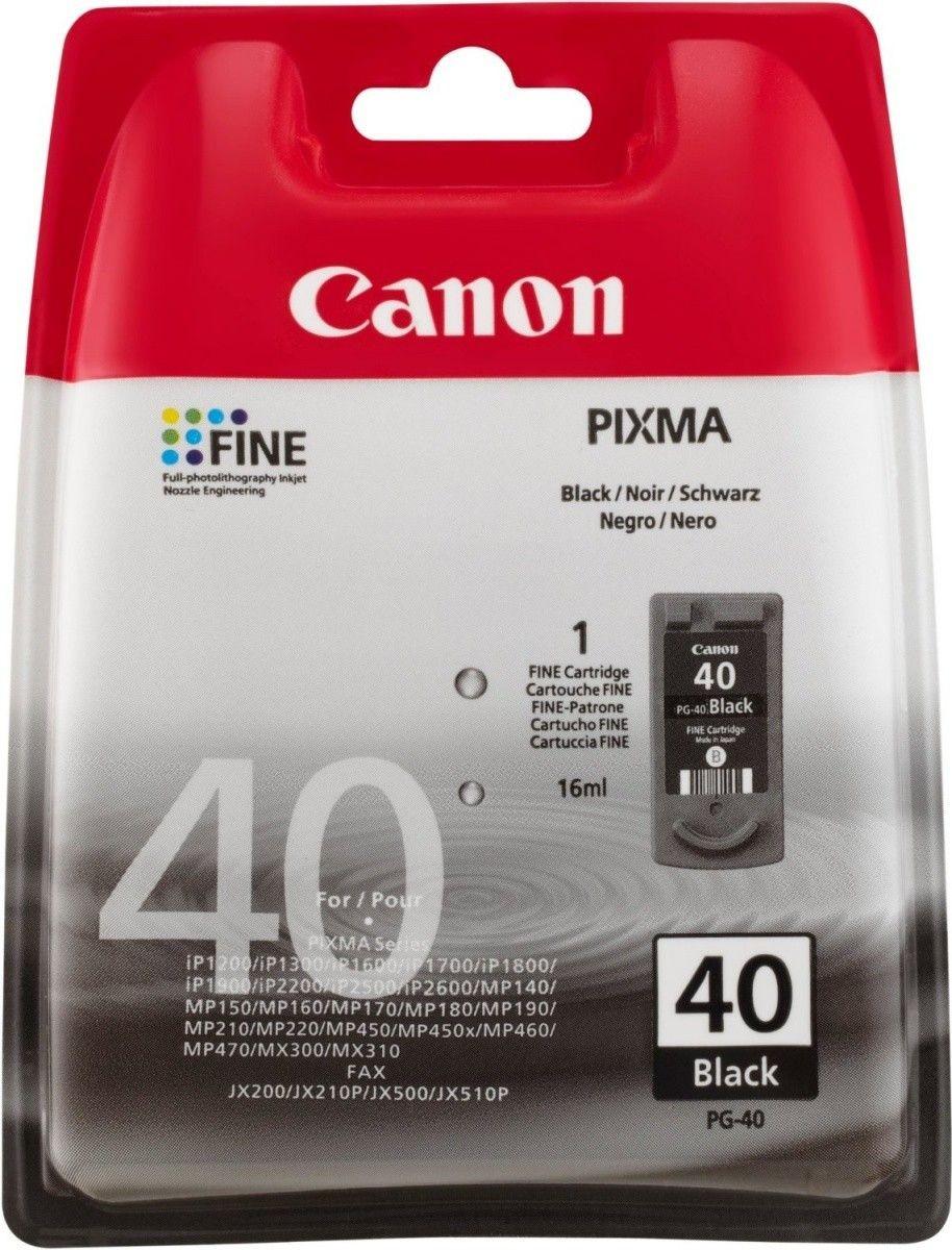 Canon PG-40 czarny (wkład atramentowy, 16ml, iP1600/iP2200)
