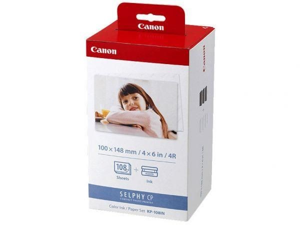 Canon KP108IN Paper Set (100x148mm, 3x36ark, CP100/200/220/800)