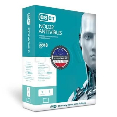 Eset NOD32 ANTIVIRUS BOX 1 STAN/12M