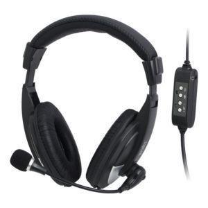 LogiLink słuchawki stereo z mikrofonem High Quality