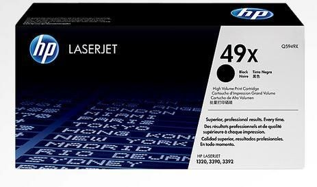 HP toner black (6000str, Smart, LJ 1320 3390 3392, contract)