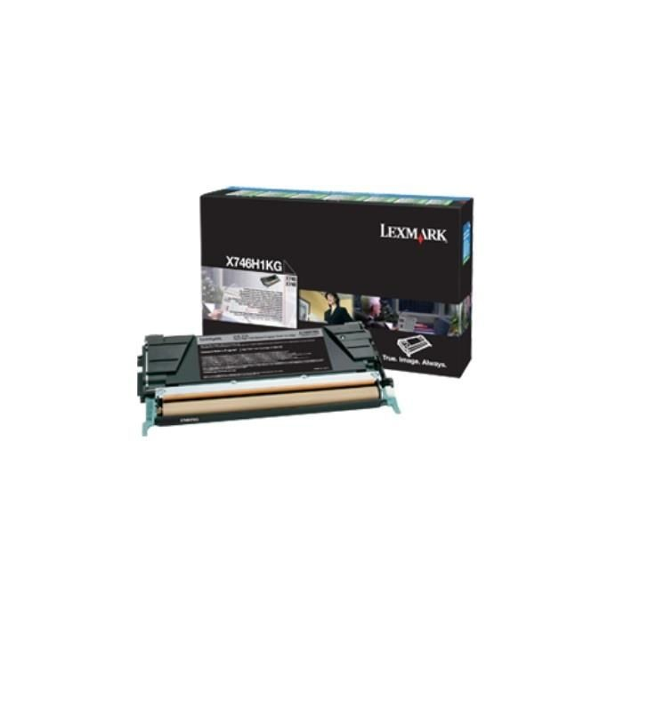 Lexmark toner Lexmark black (zwrotny, 12000str, X746/X748)
