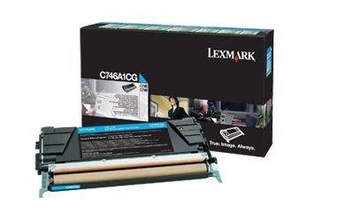 Lexmark Toner cyan | zwrotny | 7000str | C746/C748