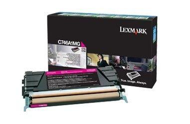 Lexmark Toner magenta | zwrotny | 7000str | C746/C748